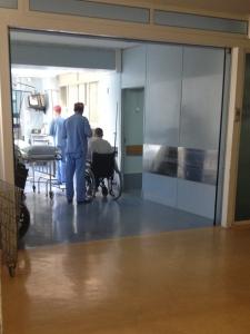 Entrando no Bloco Cirúrgico